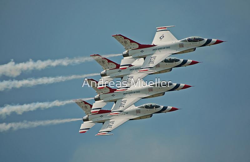 USAF Thunderbirds by Andreas Mueller