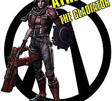 Borderlands The Pre Sequel - Athena Vault Symbol by AmadeusZV