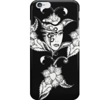 Floral Beauty Princess iPhone Case/Skin