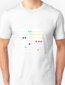 BEAD PRIMARY COLOR, abstract art image T-Shirt
