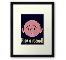 Karl Pilkington Framed Print