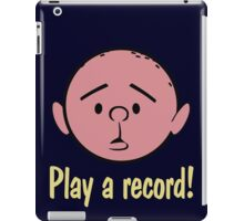 Karl Pilkington iPad Case/Skin