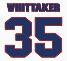 National football player Fozzy Whittaker jersey 35 by imsport