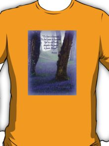 Bluebells and Rumi T-Shirt