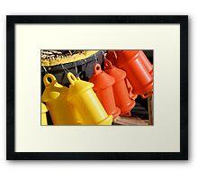 Floats Framed Print