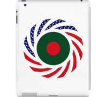 Bangladeshi American Multinational Patriot Flag iPad Case/Skin