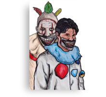 Twisty and Dandy Canvas Print