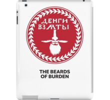 The Beards of Burden iPad Case/Skin