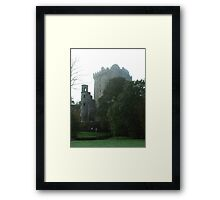 Blarney Castle in  the Mist Framed Print