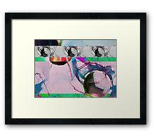 Skull Glitch Framed Print