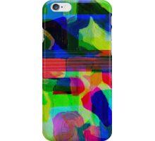 Blue Howl Glitch. iPhone Case/Skin