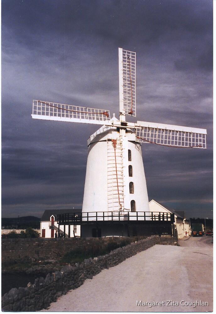 Blenerville Windmill, Tralee, Co.Kerry, Ireland by Margaret Zita Coughlan