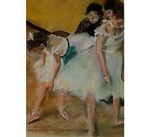 After Degas/ before the exam Photographic Print