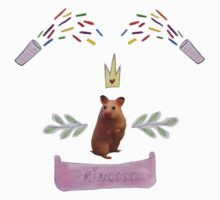Princess Hamster Banner Mouse T-Shirt