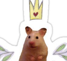 Princess Hamster Banner Mouse Sticker