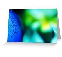 Fragrant Blue #1 Greeting Card