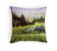On the road to Wiesme  Throw Pillow