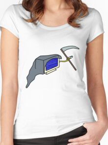 The Blue Screen of Death Women's Fitted Scoop T-Shirt