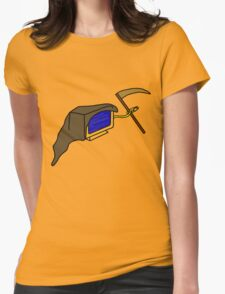 The Blue Screen of Death Womens Fitted T-Shirt