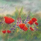 Poppies II by Redbarron