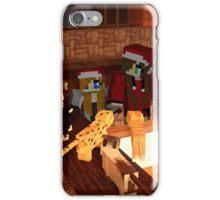 RedHamschtaa and cats (in minecraft) iPhone Case/Skin