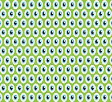 Mike Wazowski Eyeballs by ArtfulDoodler