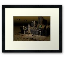 PS5 Base Framed Print