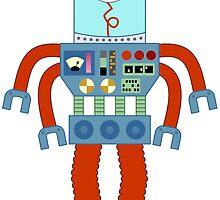 Eyeball Robot by pounddesigns