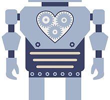 Heart Gear Robot by pounddesigns