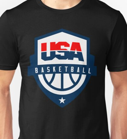 usa basketball apparel Unisex T-Shirt