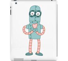 Robot Valentine iPad Case/Skin