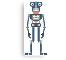 Hydraulic Robot Canvas Print