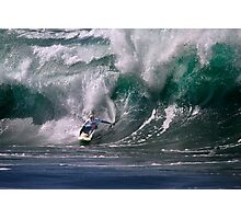 Jamie O'Brien At 2009 Quiksilver in Memory of Eddie Aikau Contest Photographic Print