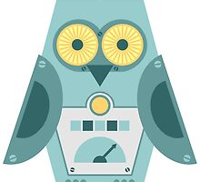 Owl Robot by pounddesigns