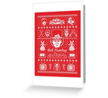 Merry Scroogedmas Greeting Card