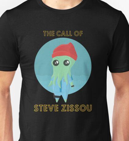 The Call of Steve Zissou 2 (black) Unisex T-Shirt