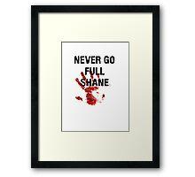 Full Shane Framed Print
