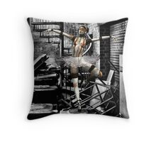 Danse Macabre - Rose Moxon & Paul Louis Villani Throw Pillow