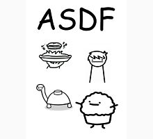ASDF Trains Pie Turtle Muffin  Unisex T-Shirt
