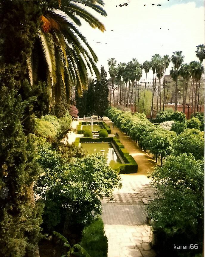 Spain Alhambra Gardens by karen66