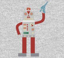Raygun Robot Invasion Kids Tee