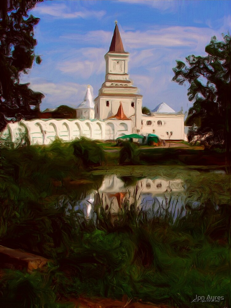 Nikolo-Ugreshsky monastery3 by Jon Ayres