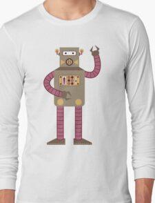 Receiver Robot Long Sleeve T-Shirt