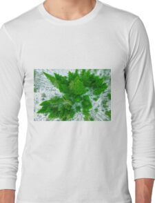 Tree top view Long Sleeve T-Shirt