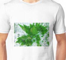 Tree top view Unisex T-Shirt