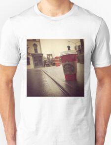 Starbucks in NY Unisex T-Shirt