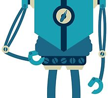 Runner Robot by pounddesigns