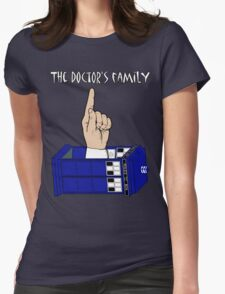 The Doctor's Family Womens Fitted T-Shirt