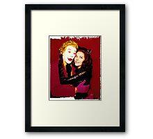 Joker and Catwoman Framed Print