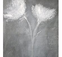 Chalk Flowers by L Roy Jetson